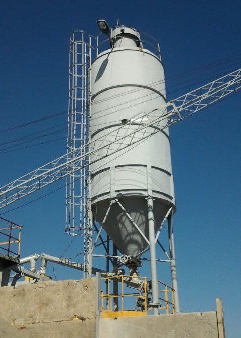 Węzeł betoniarski